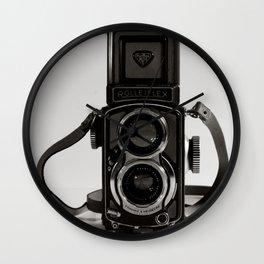 Rolleiflex Baby Gray  Wall Clock