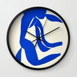 Blue Nude Dancing - Henri Matisse Wall Clock
