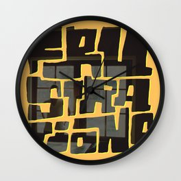 Frustrations Wall Clock