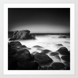 Time on the Rocks Art Print