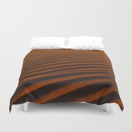 Golden Desert  Duvet Cover