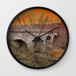 Grampa Bridge Wall Clock