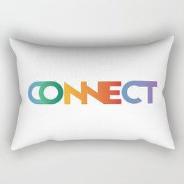 Premade Logo - Connect Rectangular Pillow