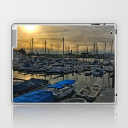 Sunset in Shoreline Laptop & iPad Skin