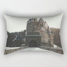 Finally, a Castle - landscape photography Rectangular Pillow