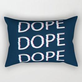 DOPE AF Rectangular Pillow