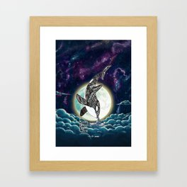 Kiss Good Night - Orca III Framed Art Print