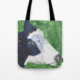 A Cow Named Socks Tote Bag