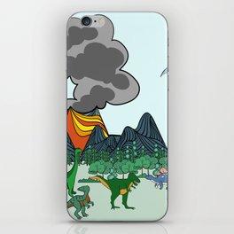 Dino Scene iPhone Skin