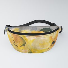 painted lilies Fanny Pack