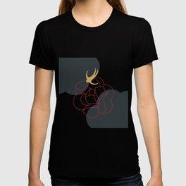 Blooming Desert Rose Abstract Art Series 4 T-shirt