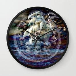 I Wish I Was A Pirate III Wall Clock