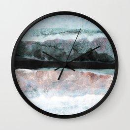 Watercolors 24X Wall Clock
