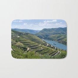 Portugal, the Douro valley near Peso da Regua Bath Mat