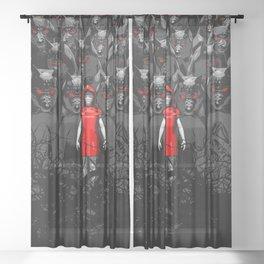 Girl N the Hood Sheer Curtain