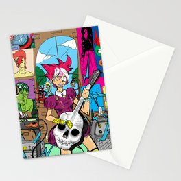Kickin' the Jamz! Stationery Cards