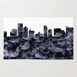 Atlantic City Skyline Rug