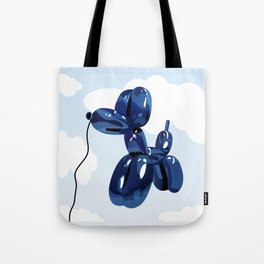 Balloon dog Tote Bag