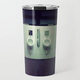 public toilet Travel Mug