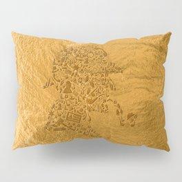 Sherlock - Gold Pillow Sham