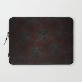 Shadow Triangles Laptop Sleeve
