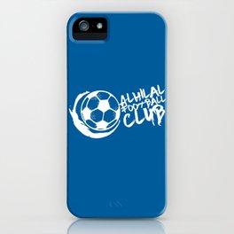 Slogan: AlHilal iPhone Case