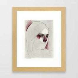 NaNoDrawMo 2012 - 20 Framed Art Print