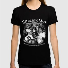 Steaming Mad Boiler Repair T-shirt