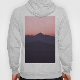 Color Gradient Mountains Hoody
