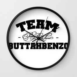 Team Buttahbenzo - Pretty Little Liars (PLL) Wall Clock