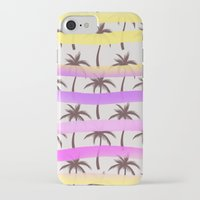 palm trees iPhone & iPod Cases featuring Palm Trees by Ornaart