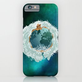 Mother Earth - Mother Nature - Love Earth iPhone Case
