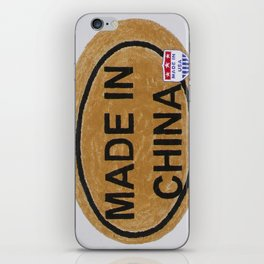 Made In China iPhone Skin
