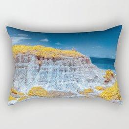 Cliff Panorama tropical Rectangular Pillow