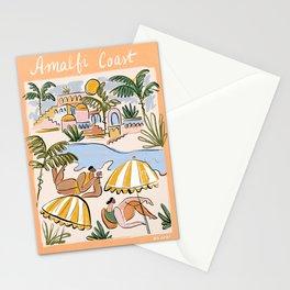 Amalfi Coast Italy (color) Stationery Cards