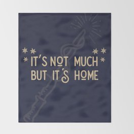 But Its Home Potter Claw Throw Blanket