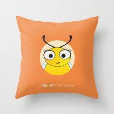 Becky the Bee Throw Pillow
