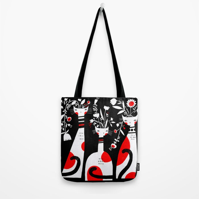 VASE CATS Tote Bag
