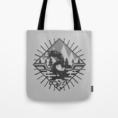 Monster Oil Tote Bag