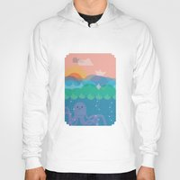 under the sea Hoodies featuring Under Sea by Loop in the mind