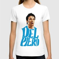 juventus T-shirts featuring Del Piero Name Blue by Sport_Designs