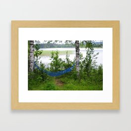 Come and relax! Framed Art Print