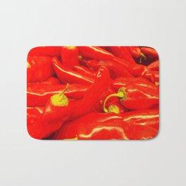 Hot Red  Bath Mat