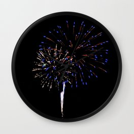 Fireworks 12 Wall Clock