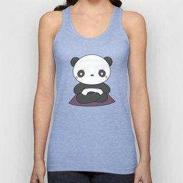 Kawaii Cute Yoga Panda Unisex Tank Top