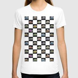 Crazy Car Art 0158 T-shirt