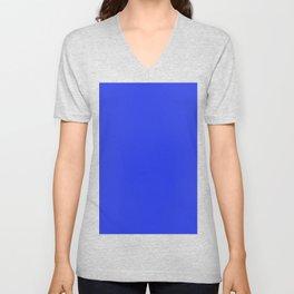 Palatinate blue Unisex V-Neck