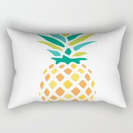 Summer Pineapple Rectangular Pillow