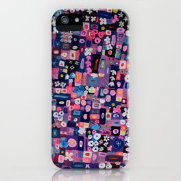 Blur Lyrics iPhone Case