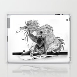HOW IT BEGINS (featuring the photography of Harvey Lisse w/his daughter Chontelle) Laptop & iPad Skin